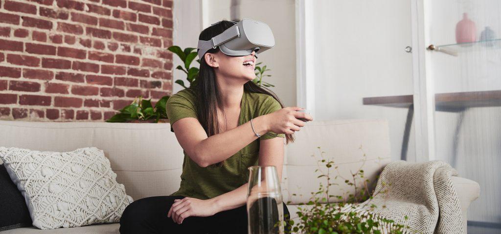 Oculus Go Realtà Virtuale VR Benessere Tecnologico Laura Fasano Facebook