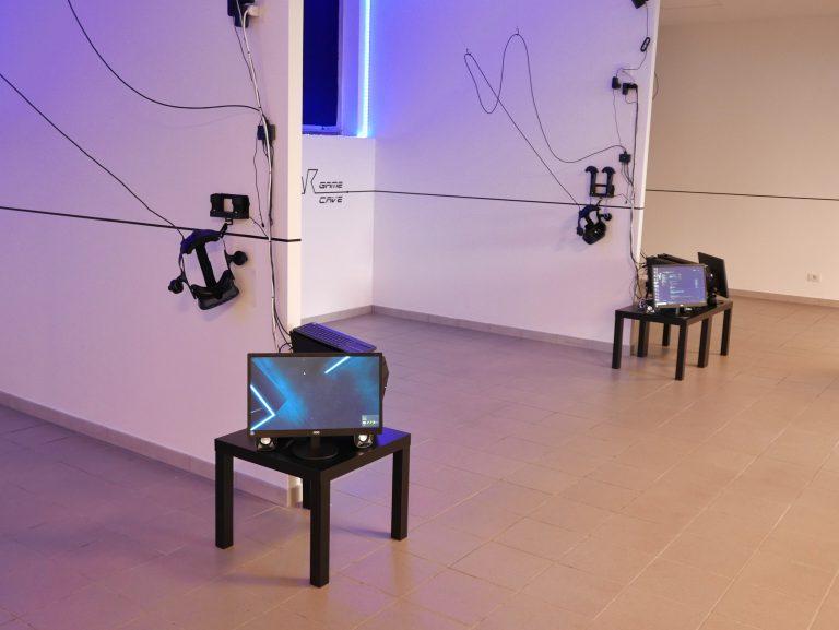 vr game cave realtà virtuale milano benessere tecnologico psicologia laura fasano sala giochi videogiochi