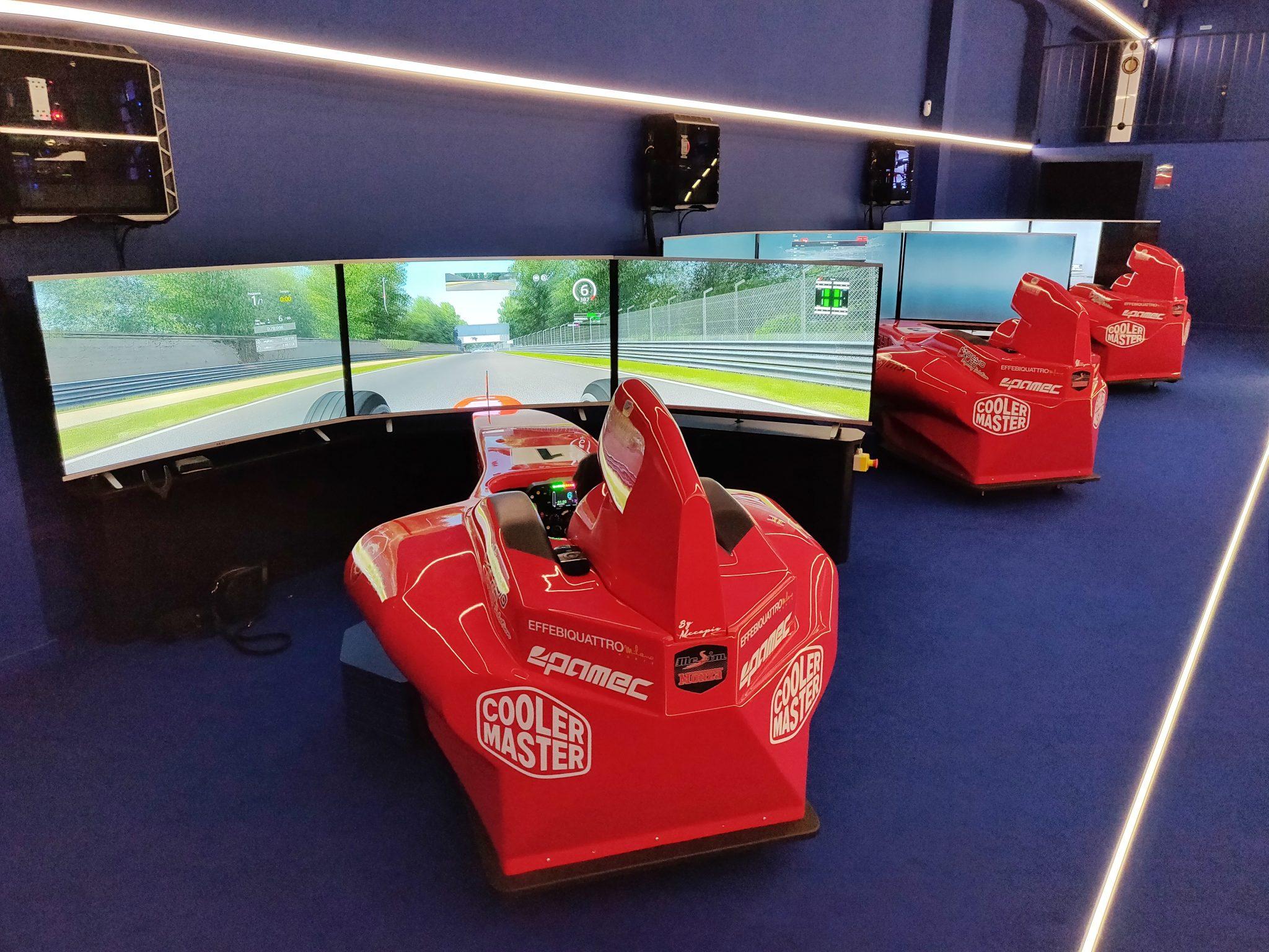 mcsim simulatore realtà virtuale benessere tecnologico laura fasano pilota monza milano