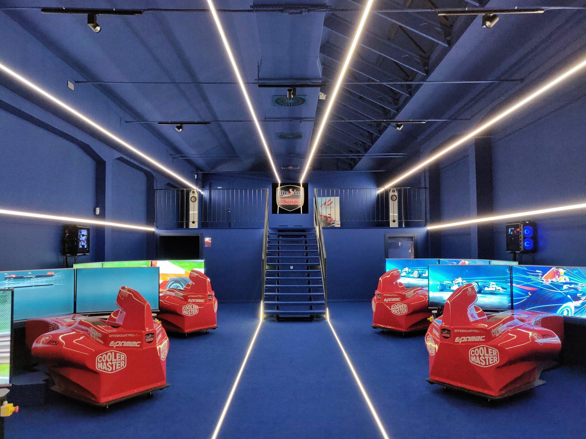 mcsim simulatore virtuale realtà f1 formula uno corsa pilota monza benessere tecnologico tecnolaura laura fasano