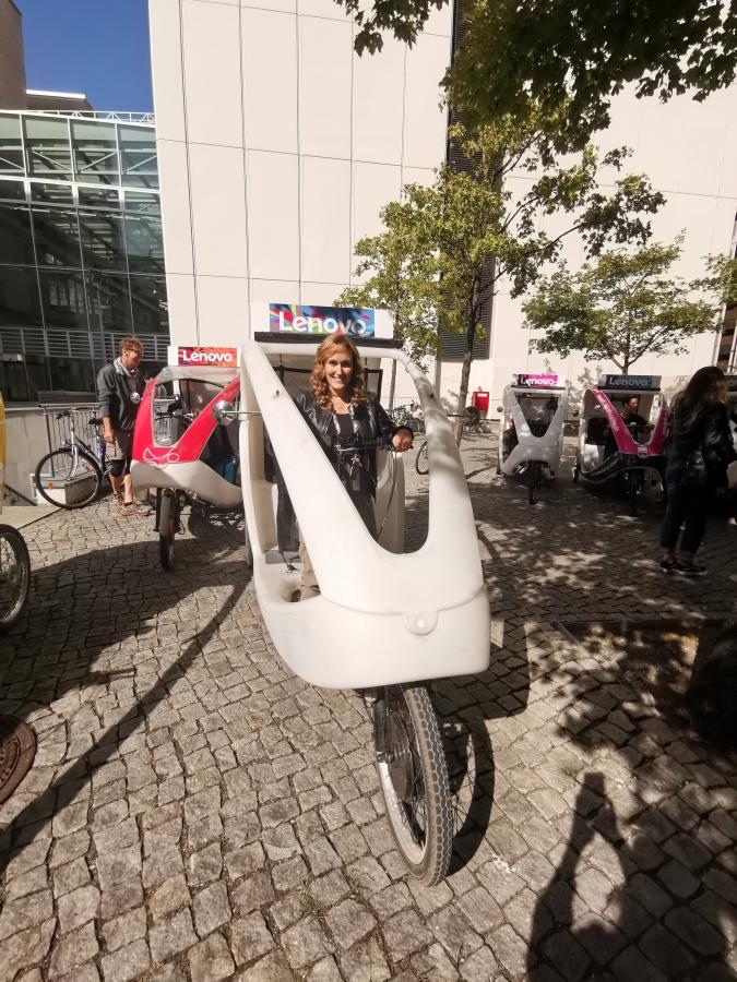 lenovo ifa 2019 laura fasano velotaxi green energia tecnolaura benessere city smart
