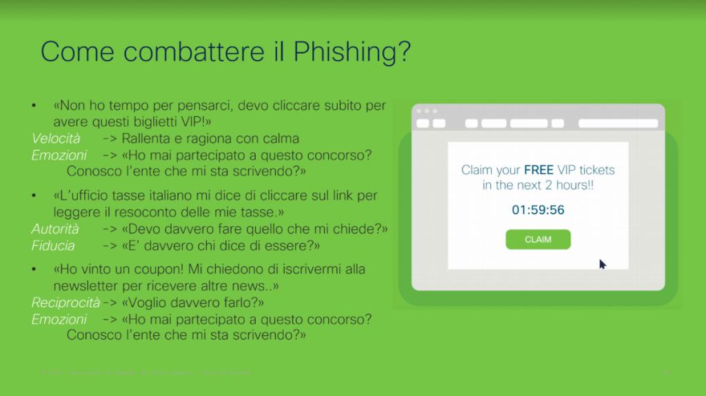 phishing cisco academy cybersecurity sicurezza truffe online