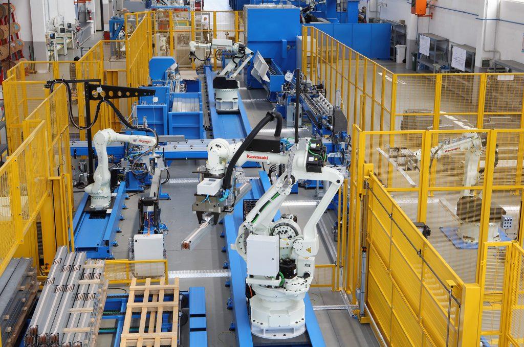 robotica industriale kawasaki tecnolaura benessere tecnologico laura fasano