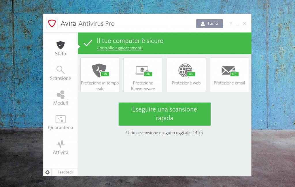 avira antivirus sicurezza online digitale tecnologia password tecnolaura laura fasano benessere tecnologico