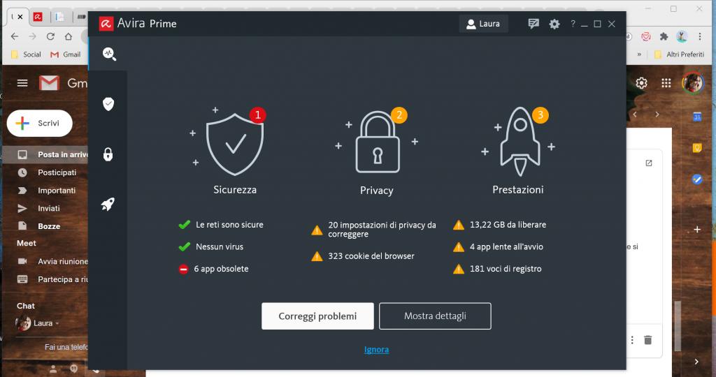 avira-prime-benessere-tecnologico-tecnolaura-sicurezza-informatica-privacy-prestazioni-antivirus-password-manager