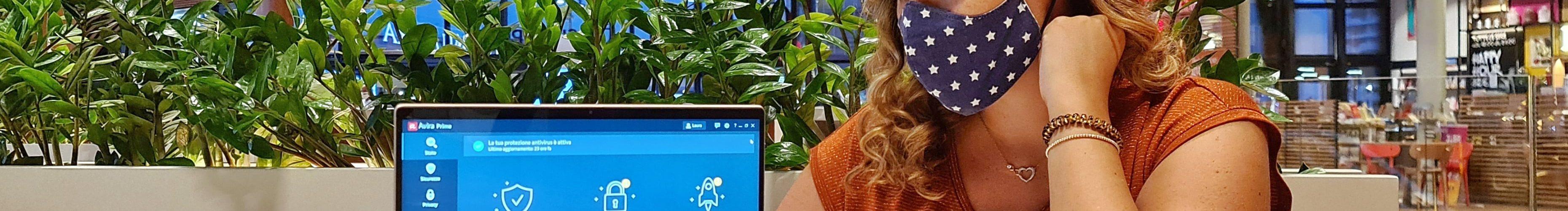 antivirus avira sicurezza digitale firewall password prestazioni computer cybersecurity laura fasano benessere tecnologico tecnolaura