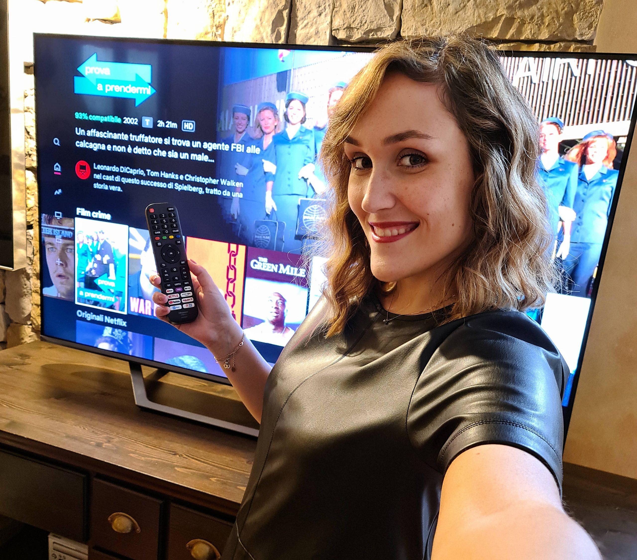 hisense smart tv tecnologia netflix amazon benessere tecnologico laura fasano tecnolaura