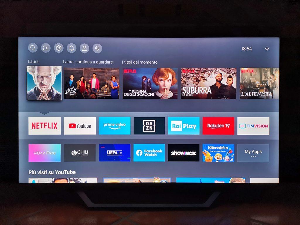 hisense smart tv tecnologia netflix amazon vidaa benessere tecnologico laura fasano tecnolaura prime video