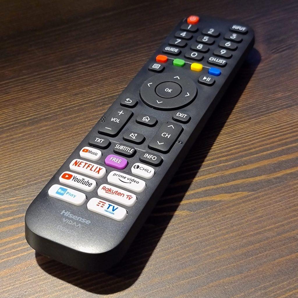 hisense smart tv tecnologia netflix amazon vidaa benessere tecnologico laura fasano tecnolaura rai