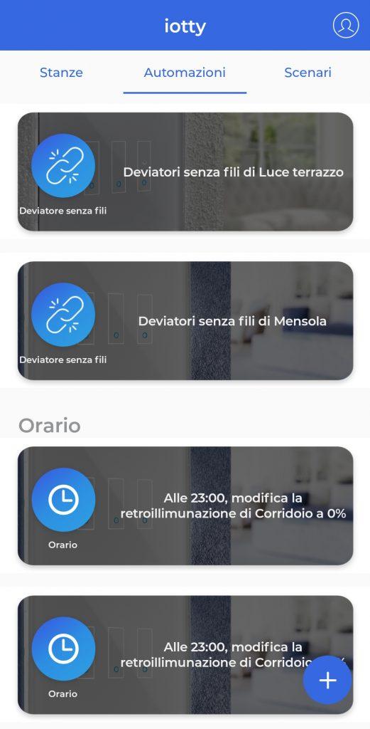 applicazione iotty tecnolaura benessere tecnologico smart home tecnologia