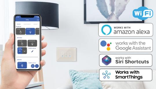 iotty smart home assistente vocale alexa google siri smartthings tecnolaura benessere tecnologico